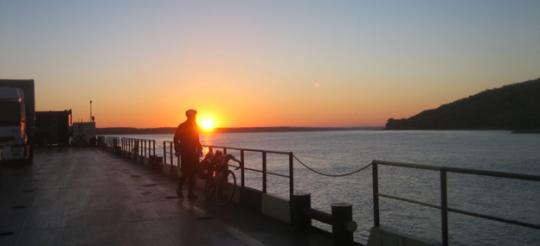 Ed boat sunset
